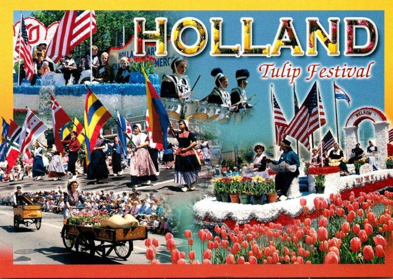 Michigan Holland Tulip Festival Multi View