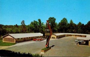 Mississippi Vicksburg Beechwood Motel 1961