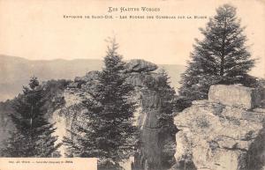France Les Hautes Vosges Environs de Saint-Die Roche des Corbeaux sur la Burse