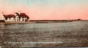 Connecticut Saybrook Point At The Mouth Of Connecticut River 1957