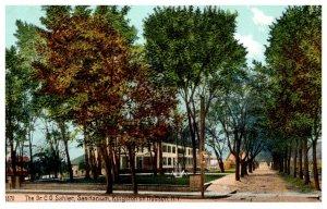New York Kingston on Hudson , Dr.C.O. Sahler Sanitarium
