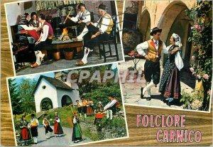Postcard Modern Folklore Carnico