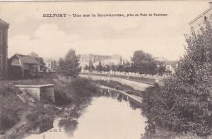 Vue Sur La Savoureuse, Prise Du Pont Du Fourneau, BELFORT, France, 1900-1910s