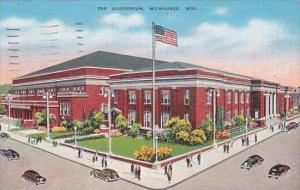 Wisconsin Milwaukee The Auditorium 1939