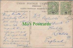 Genealogy Postcard - House History - 124 Tachbrook St, Pimlico, London RF7657