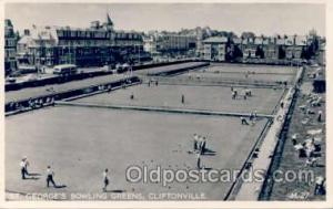 Lawn Bowling  Cliftonville