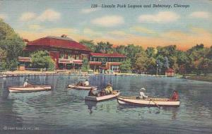 Illinois Chicago Lincoln Park Lagoon And Refectory