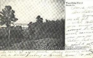 Wagon Bridge Memphis MO 1907