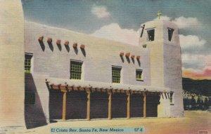 SANTA FE , New Mexico , 30-40s ; El Cristo Rey