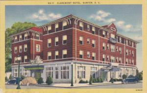 Claremont Hotel , SUMTER , South Carolina , 30-40s