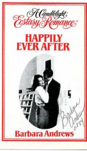 Happily Ever After Autographed by Author- Barbara Andrews