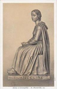 Loisiana Saint Martinville Statue Of Evangeline