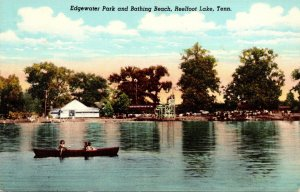 Tennessee Reelfoot Lake Edgewater Park and Bathing Beach Curteich