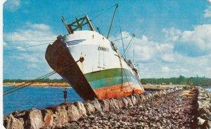 COATZACOALCOS , Ver. , Mexico, 1950-1960´s; Shipwreck