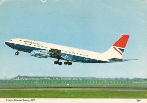 British Airways Boein 707 1976