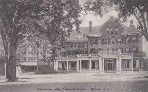 New Hampshire Hanover Dartmouth College The Hanover Inn Facing Dartmouth Camp...