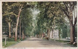 Maine Portland State Street 1913