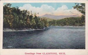 Greetings From Gladstone Michigan 1930