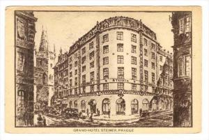 Grand-Hotel Steiner, Prague, Czech Republic, 1900-1910s
