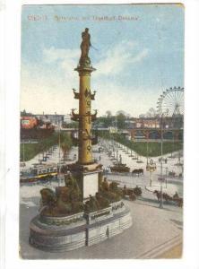 WIEN , Austria, PU-1918; Praterstern mit Tegethoff DEnkmal