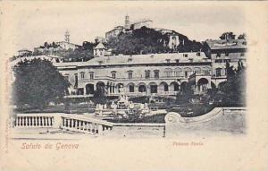 Saluto da Genova, Liguria, Italy, 10-20s