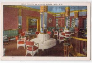 Indian Room, Hotel Niagara, Niagara Falls NY