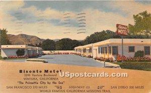 Bisonte Motel - Ventura, CA