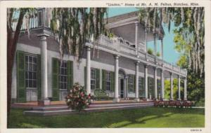 Mississippi Natchez Linden Home Of Mr and Mrs Frank Fauntleroy and Family