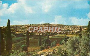 Postcard Modern Nazareth Partial View