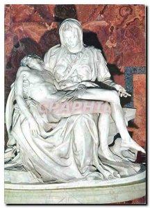 Postcard Modern Cita del Vaticano Basilica of St Pierre La Pitie Michelangelo