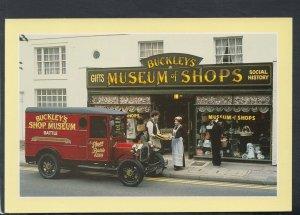 Sussex Postcard - Buckleys Museum of Shops, High Street, Battle  T8928