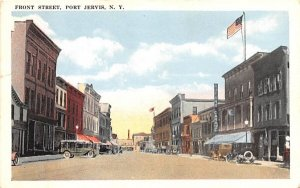 Front Street in Port Jervis, New York