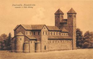 Paulinzelle Klosterkirche Reconstr. v. Felix Hoering Church Eglise