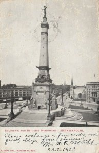 INDIANAPOLIS , Indiana, PU-1903; Soldier's and Sailor's Monument