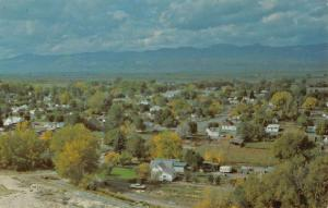 Salina Utah Birdseye View Of City Vintage Postcard K41780