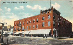 F70/ Aberdeen South Dakota Postcard c1910 Ward Hotel Building