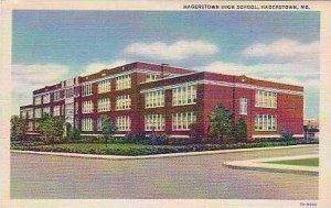 Maryland Hagerstown Hagerstown High School Curteich