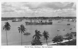 Tanzania Dar-es-Salaam, Harbour, Port, Aerial View, Ships, Boats
