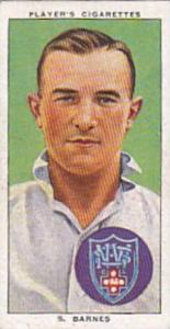 Player Vintage Cigarette Card Cricketers 1938 No 36 S Barnes New South Wales