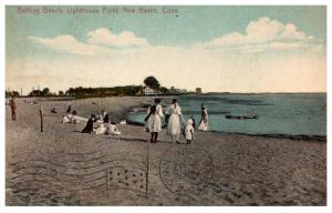 Connecticut  New Haven , Lighthouse Point bathing Beach