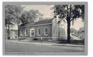 Post Office , NAPPANEE , Indiana, 30-50s