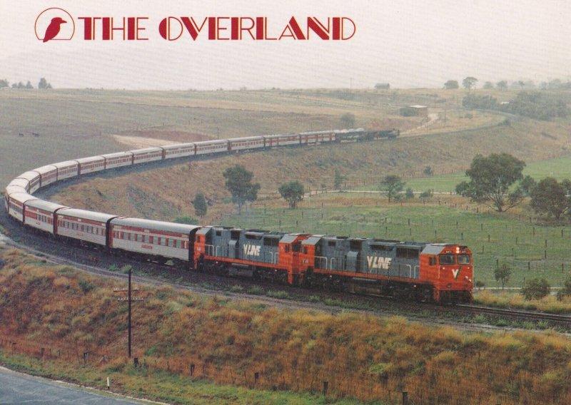 MELBOURNE-ADELAIDE, Victoria, Australia, 1950-1970s; The Overland, Train
