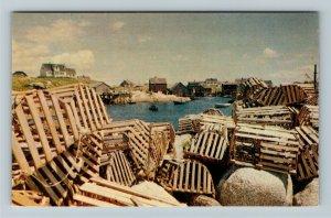 Halifax NS- Nova Scotia, Peggy's Cove, Destination Spot, Chrome Postcard