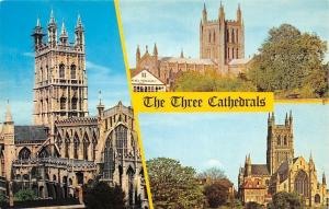 The Three Cathedrals Gloucester Hereford, Worcester