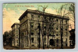 Toledo OH-Ohio, YWCA, Vintage c1912 Postcard