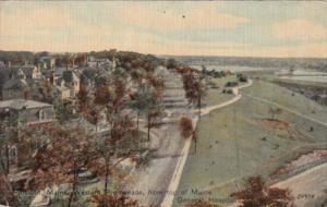Maine Portland Western Promenade From Top Of Maine General Hospital 1909