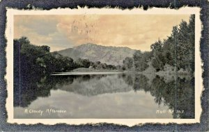 FULTON MISSOURI 1909 PSTMK~A CLOUDY AFTERNOON-HULL #367 REAL PHOTO POSTCARD