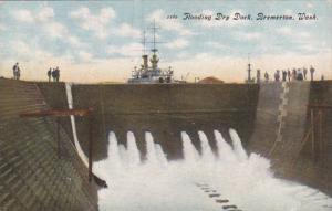 Washington Bremerton Flooding A Dry Dock