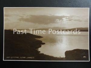 c1930 RPPC - Loch Etive, Sunset - Judges Ltd