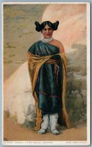 HOPI INDIAN BELLE KODEH ARIZONA ANTIQUE POSTCARD